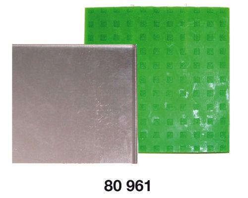 Flachkerzen-Form eckig (Metallform)
