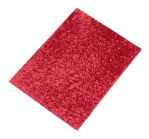 Crackle Mosaik Platte rot