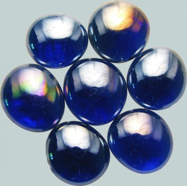 Glas-Nuggets 15 x 20 mm irisierend - verschiedene Farben