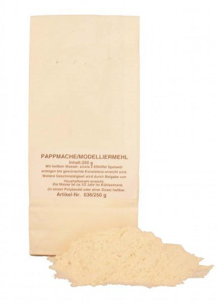 Pappmaché 250 g Beutel mit Anleitung