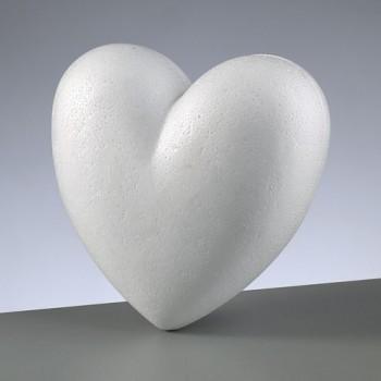 Styropor-Herz teilbar