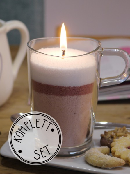 Komplettset: Kerzensand Kaffee