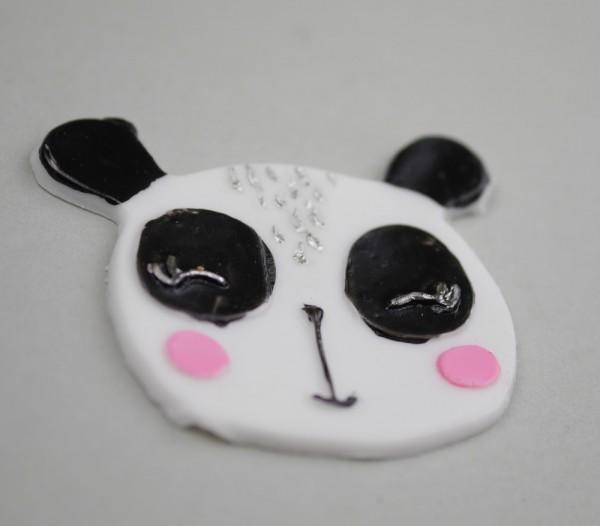 Wachsmotiv Panda