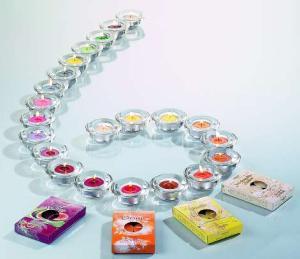 6er Set Duftteelichter Opium
