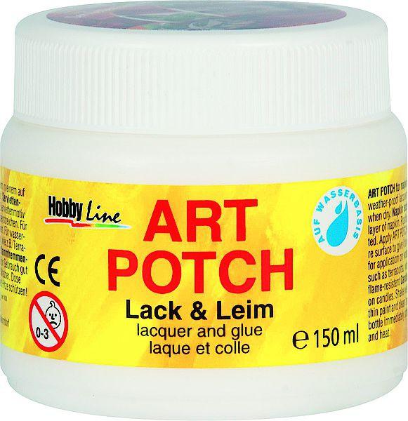 Art-Potch Lack & Leim 150 ml