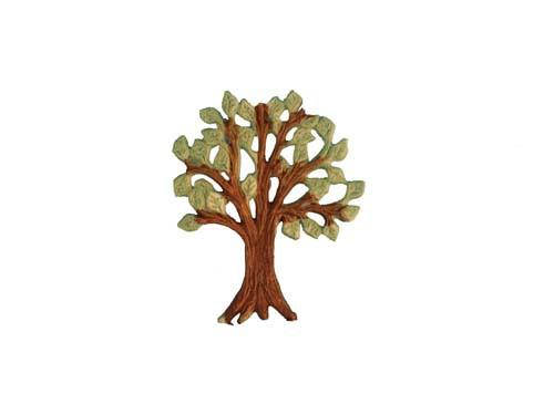 Wachsornament Lebensbaum 6,5 cm x 5 cm