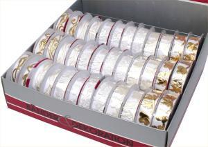 Band Herzen-Tauben gold 2cm breit