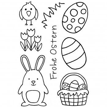 Stempel Ostern