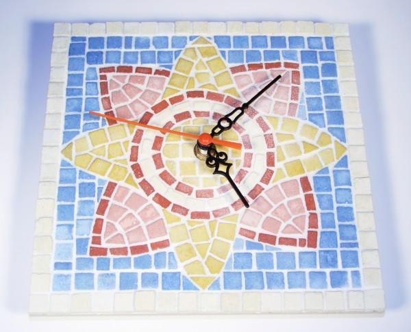 Mosaikset Uhr 20x20 cm