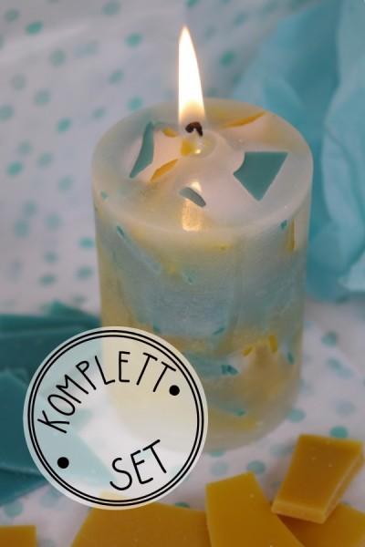 Komplettset: Candle Crunch caramel/türkis