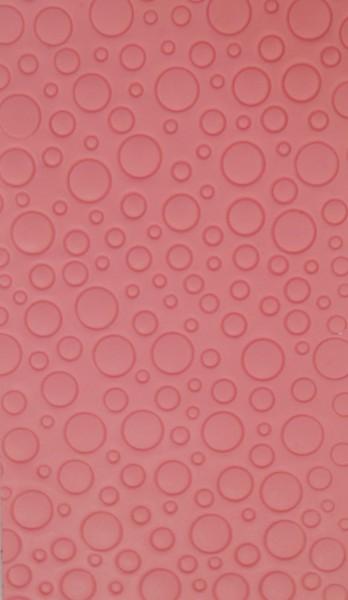 Wachsplatten Bubble gestanzt in verschiedenen Farben