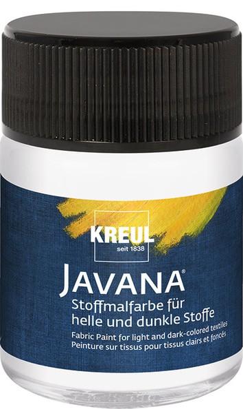 Javana Stoffmalfarbe Opak - Weiß