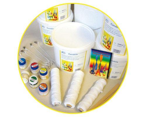 Schulpackung Kerzentauchen-Basismaterial