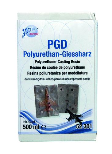 """PGD-Polyurethan-Giessharz """"dünnwandig"""""""