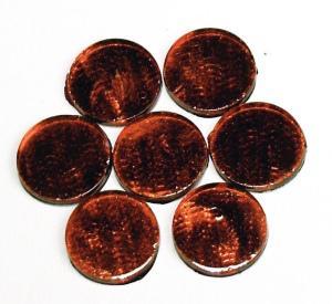 Spiegelmosaik 10x10mm rot