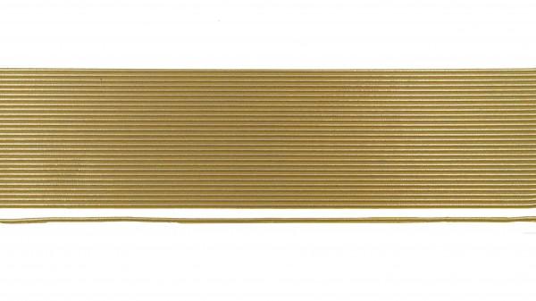Wachsstreifen gold rund, 23 cm