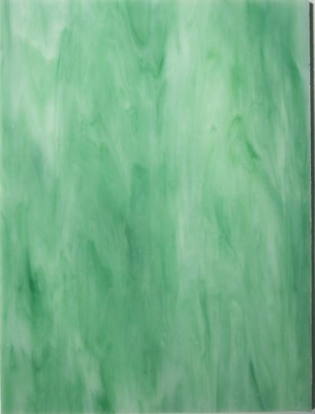 Tiffany Glas Platten 15x20 cm - Melone
