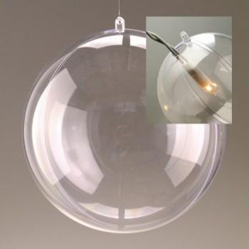 Kunststoff-Kugel mit Loch für Beleuchtung