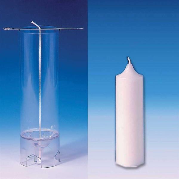Zylindrische Giessform mit Glockenspitze. Nr. 1