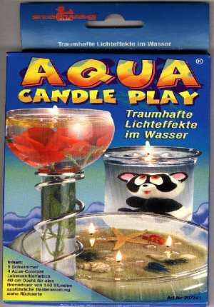 Wasserkerze - Aqua Candle Set