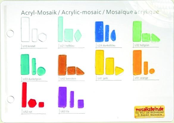Mustertafel Lucy-Mosaik