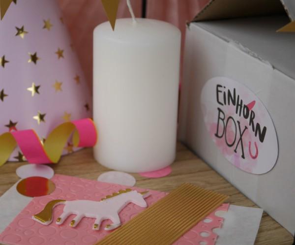 Einhorn Box - Komplettset Kindergeburtstag