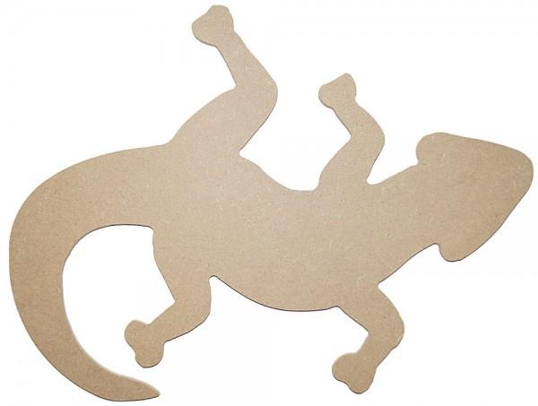 Gecko - 32 x 24 cm, MDF 4 mm