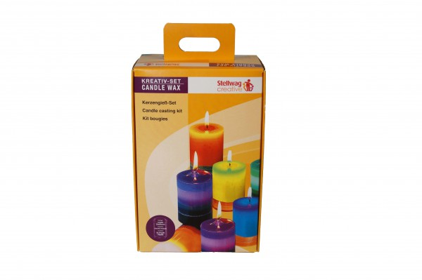 Kerzen Set mit runder Form