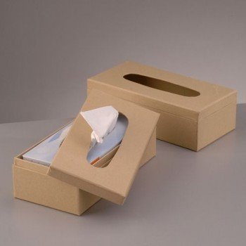 Box für Kosmetiktücher zur individuellen Gestaltung