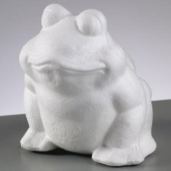 Styropor-Vollform Frosch