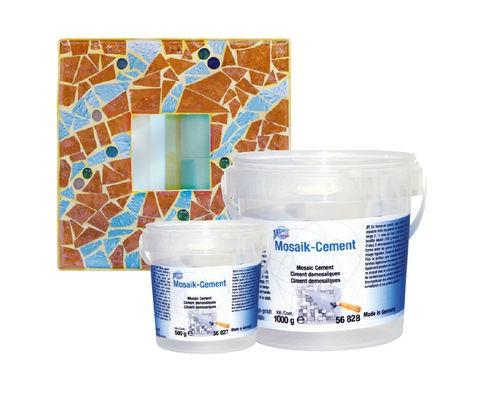 Mosaik-Cement
