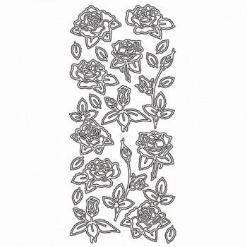 Stickerbogen Rosen