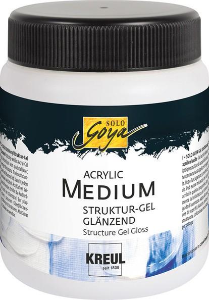 Solo Goya Acrylic Medium Struktur-Gel 250 ml