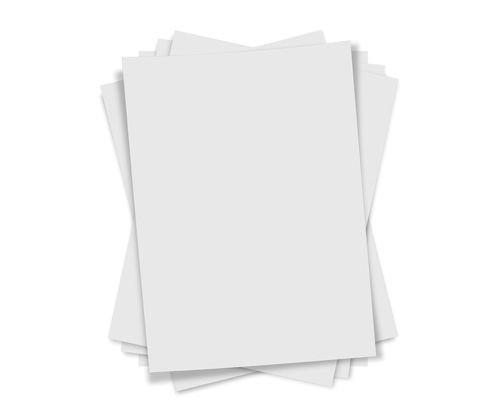 Schrumpffolie 26 x 30 cm unbedruckt weiss (3 Stück)