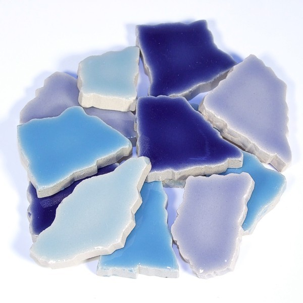 Flip-Keramik Blau Mix