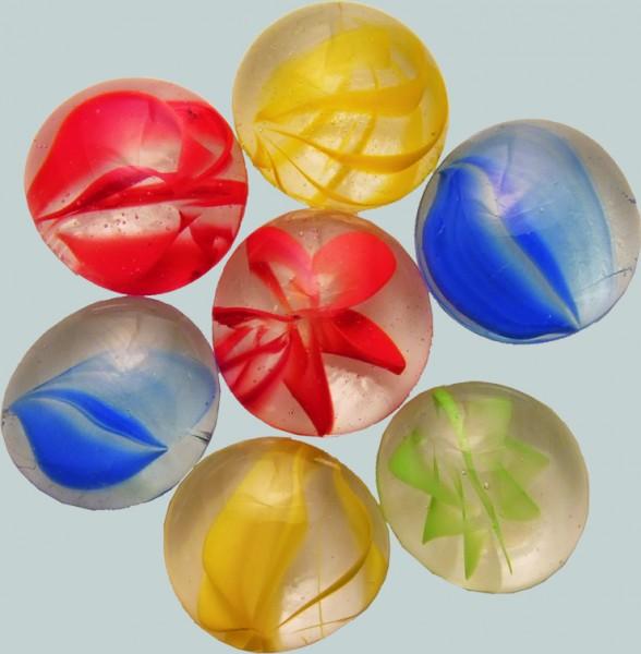 Bunt Mix Glas-Nuggets 15 x 20 mm irisierend