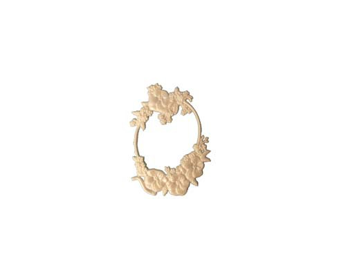 Oval Stiefmütterchen 12,5 cm
