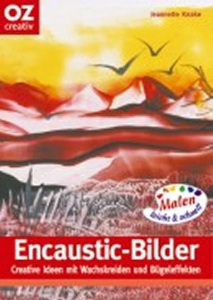 Buch Encaustic-Bilder