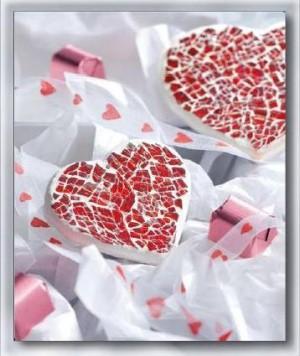 Creativ Set Crackle Mosaik Herz