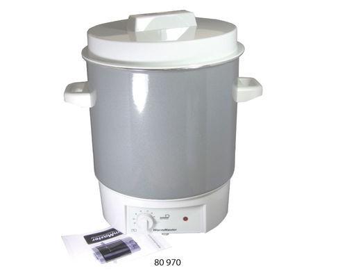 Wachs-Schmelzbehälter 24 l - regelbar, mit oder ohne Auslaufhahn