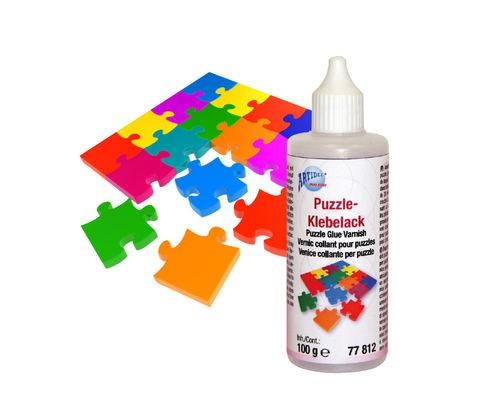 Puzzle-Klebelack (transparent) 100 g