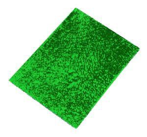 Crackle Mosaik Platte grün