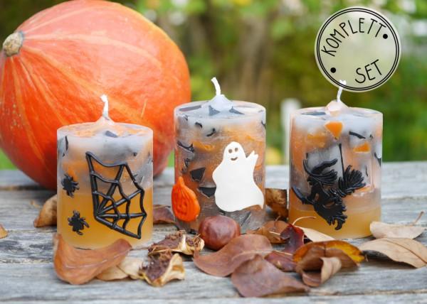 Komplettset: Candle Crunch Halloween Edition