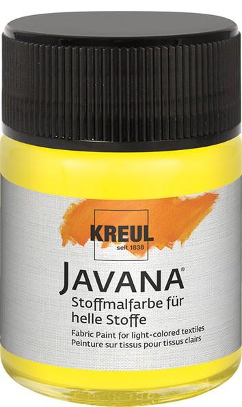 Javana Stoffmalfarbe Sunny - citron