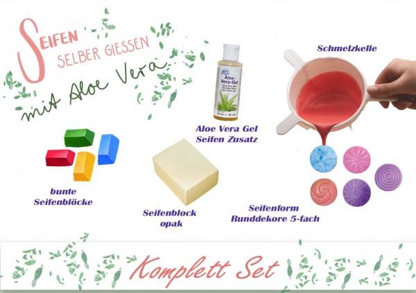 Seife selber gießen - Aloe Vera - Set