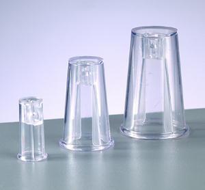 Adapter 17 mm glasklar