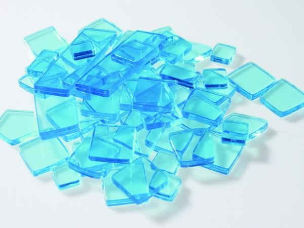 Acryl Kunststoffmosaik Luzy polygonal - Hellblau