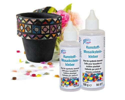 Kunststoff-Mosaiksteinkleber