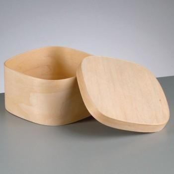 Spanschachtel quadratisch in vielen Größen erhältlich