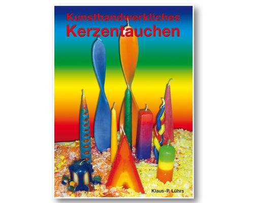 Kunsthandwerkliches Kerzentauchen (Buch)